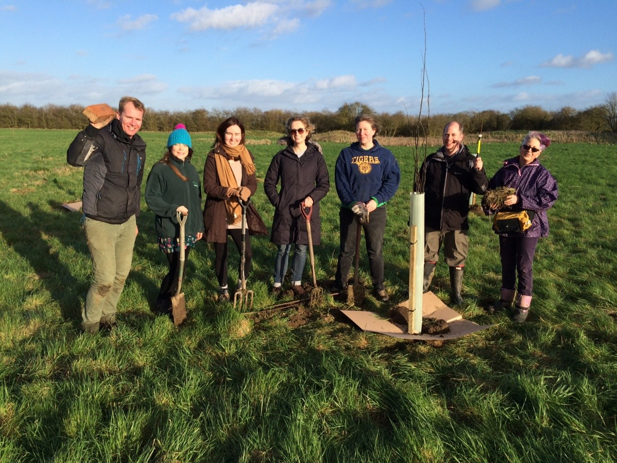 Tree planting day January 2016